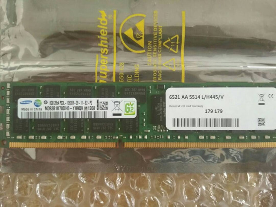 2 Memoria Ram Samsung Ddr3 8gb Servidores Pc3l-10600r