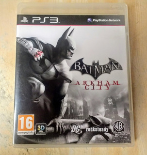 Batman: Arkham City Ps3 Esp Disco Físico Original Impecable