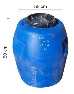 Tacho 100 Lts. - Tankes - De Plástico. Sin Manijas. 2 Unid.
