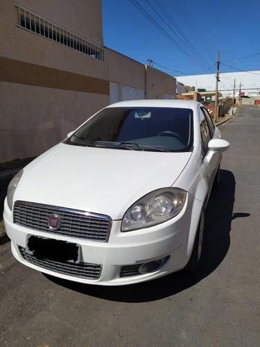 Fiat Linea 1.8 Essence 2013 Branco Completo Ar Digital
