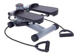 Mini Stepper Con Bandas Elasticas Escalador Caminador Oferta