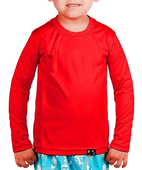 Kit 20 Camisas Infantil Proteção Uv 50+ Solar Térmica
