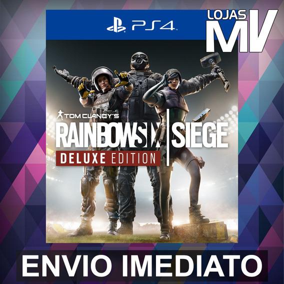 Rainbow Six Siege Deluxe - Ps4 Código 12 Dígitos