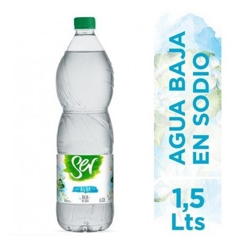 Imagen 1 de 1 de Ser Agua Baja En Sodio Sin Gas X 1,5lt