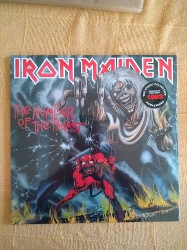 Imagem 1 de 2 de Lp Iron Maiden The Number Of The Beast