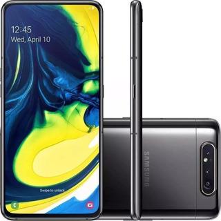 Celular Samsung Galaxy A80 Preto 128gb 8gb Câmera Rotativa