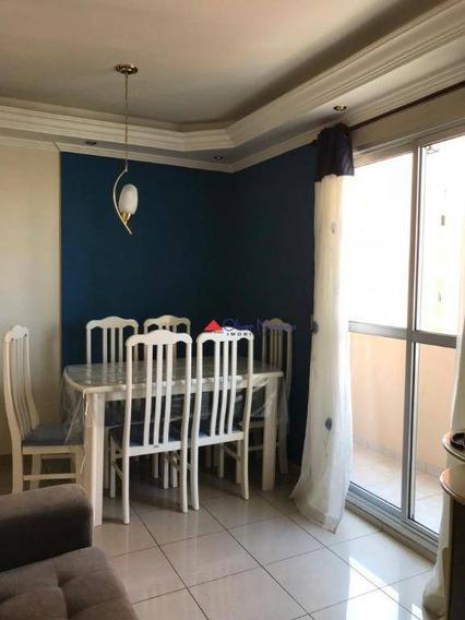 Apartamento À Venda, 62 M² Por R$ 255.000,00 - Bussocaba - Osasco/sp - Ap7025
