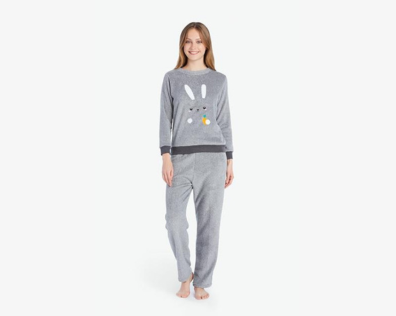 Pijama Beauty Secret Gris Pr-3023912