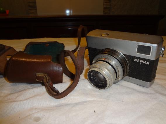 Antiga Maquina Fotográfica Werra 31