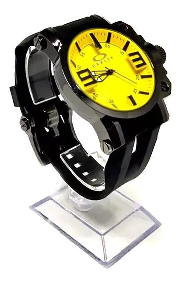 Relógio Oakley Fundo Amarelo