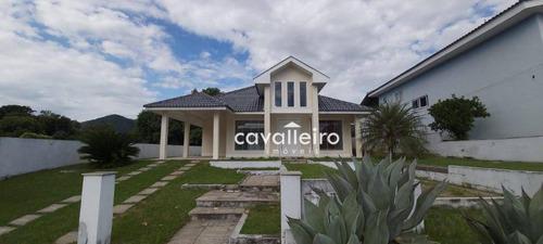 Imagem 1 de 30 de Casa 3 Quartos (sendo 2 Suítes) Em Condomínio De Alto Padrão, Ubatiba, Maricá - Rj - Ca4786