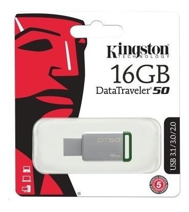 Pendrive 4gb Kingston Datatraveler 50 Usb 3.1/3.0/2.0 Its