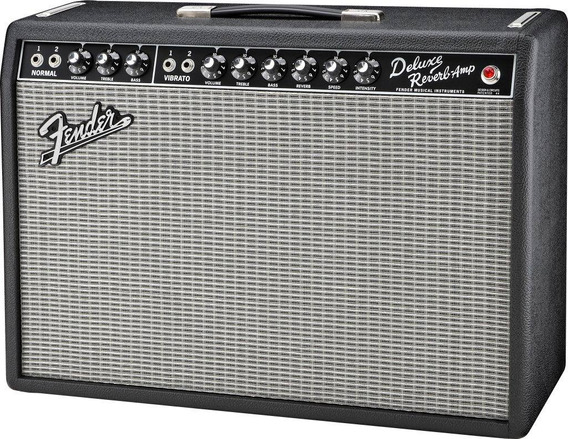 Fender Deluxe Reverb 65 Amplificador Valvular 22 Watts 1x12