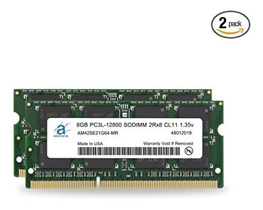 Adamanta 16gb (2x8gb) Apple Memory Upgrade Compatible For Im
