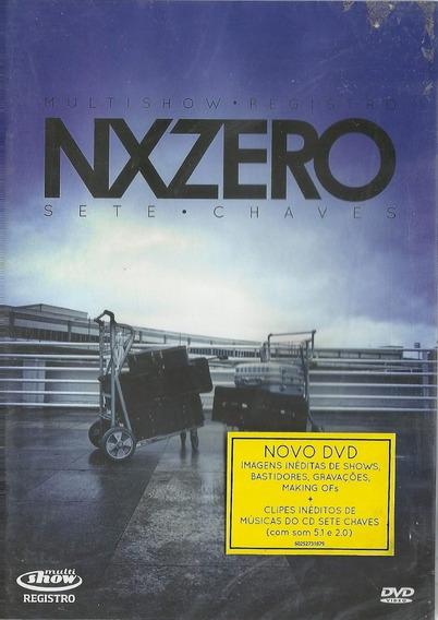 Dvd - Nx Zero Sete Chaves - Multishow Registro - Lacrado