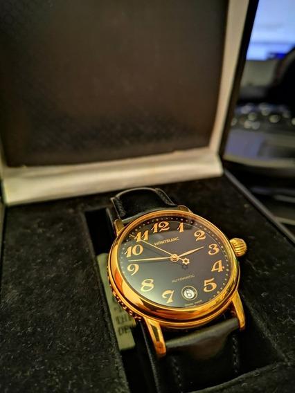 Relógio Montblanc Meisterstuck Automático Completo Raridade