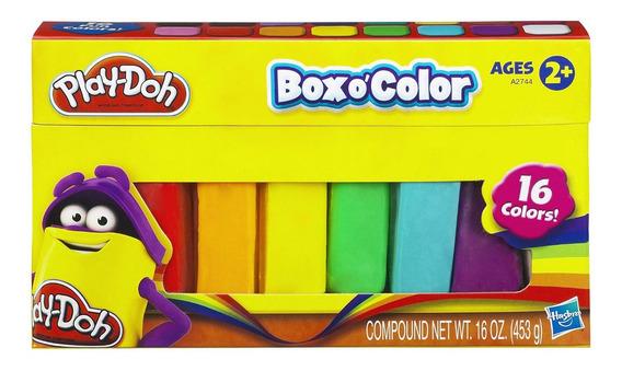 Massinha Play-doh - Refil Com 16 Cores - Hasbro