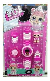 Relógio Infantil Pulseira Personagem Lol Lego