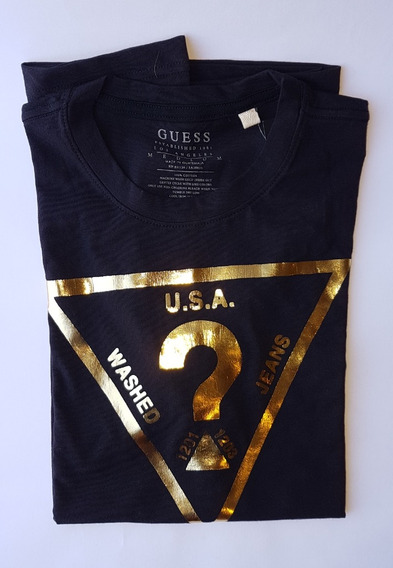 Lote De 2 Camisetas Hombre Guess Original Talla M Playeras