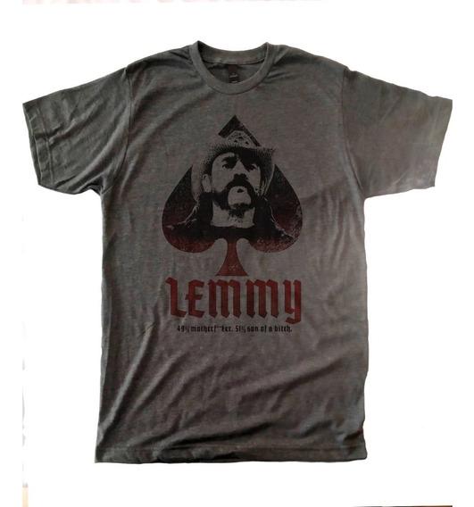 Playera Lemmy Motorhead Jaspe