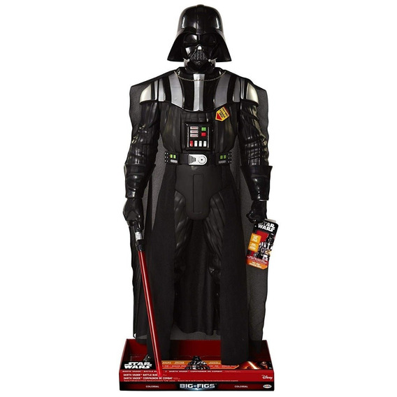 Star Wars Darth Vader Battle Buddy Ativado Por Som E Voz