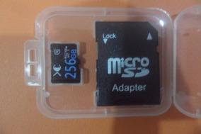Cartão De Memória 256gb - Camera - Mp4 - Mp3 - Celular