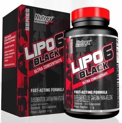Lipo 6 Black Quemador De Grasas 60 Capsulas