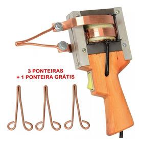Ferro Solda Pistola Estanhador 350wts 220v + Ponteiras