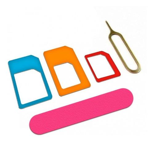 Moldura Chip Celular Mini Micro Nano Sim Card Adaptador