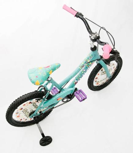 Bicicleta Futura Twiggy Rodado 16 Nena Bmx Paseo Cross Niña