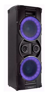 Sistema De Audio Potenciado Noblex C/ Luces Mnt950bt Tzedaká