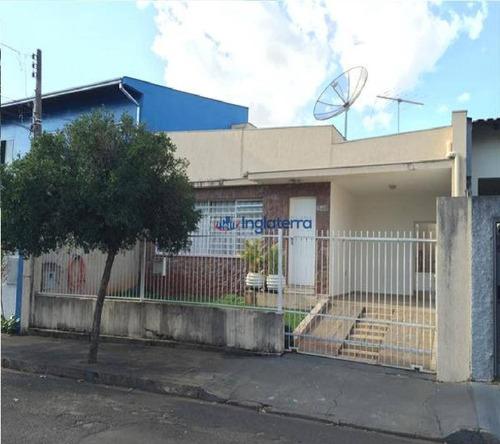 Casa, 133 M² - Venda Por R$ 400.000,00 Ou Aluguel Por R$ 1.800,00/mês - Jardim Londrilar - Londrina/pr - Ca1464