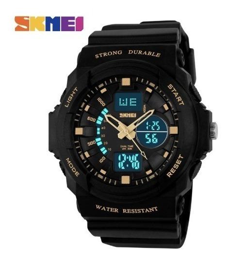 Relógio Masculino Skmei 0955 Resistente A Água Promoção