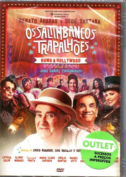 Dvd Filme Os Saltimbancos Trapalhões Roma A Hollywood