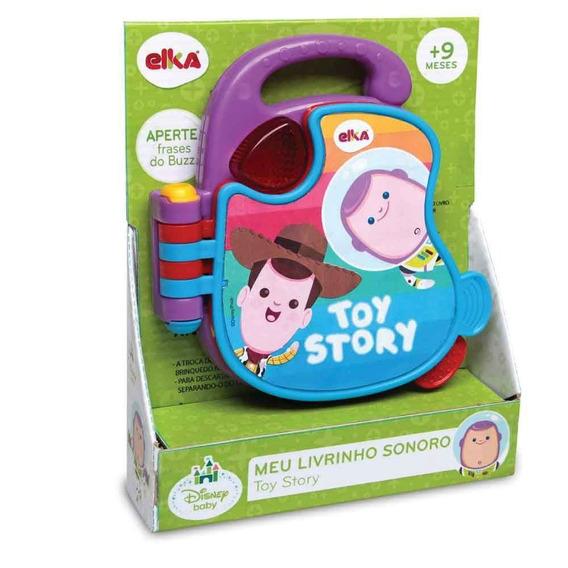 Meu Livrinho Sonoro Toy Story Baby Elka