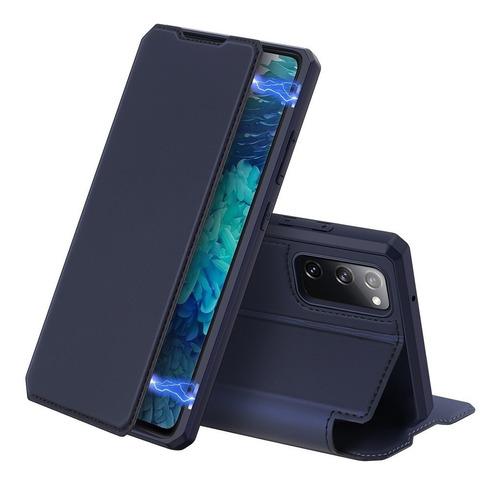Imagen 1 de 5 de Samsung Galaxy S20  Fe Flip Cover Dux Ducis Skin X