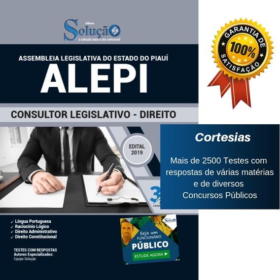 Apostila Alepi Consultor Legislativo - Direito - Piauí