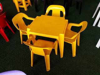 Mesa E Cadeiras Infantil Coloridas Poltrona Kit C/ 20 Jogos