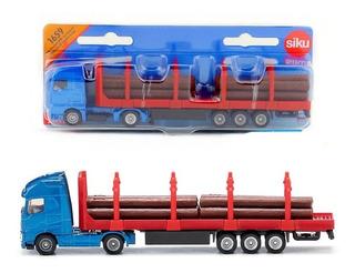 Camion Man Forestal Con Troncos - Siku Series 16 1/87 H0