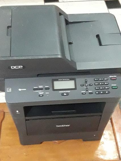 Impressora Brother Dcp 8157 P/conserto. Falta Fusor. Ligando