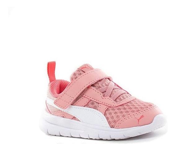 Zapatillas Niñas Puma Flex Essential Rosas - Corner Deportes