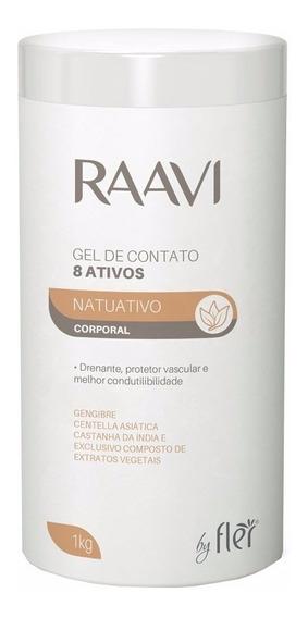 Gel De Ultrassom Redutor Celulite 8 Ativos Raavi