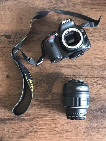 Kit Câmera Nikon D5200 + Lente 18-55 E 50mm + Bolsa