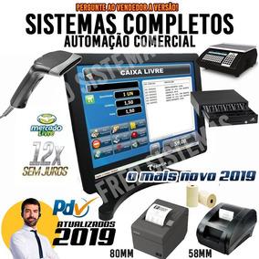 Gestão De Estoque, Caixa, Clientes, Produtos, Vendas, Pdv