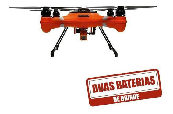 Splash Drone Fisherman Swell Pro +baterias,controle E Maleta