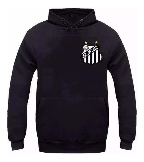 Moletom Santos Futebol Peixe Baixada Moleton Blusa De Frio