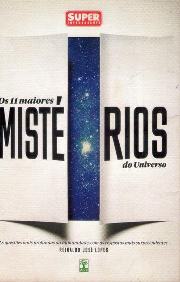 Livro: Os 11 Maiores Mistérios Do Universo - 2014 (ciência)