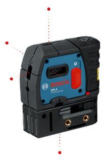 Gpl-5 Nivel Laser 5 Puntos Bosch 1066-200