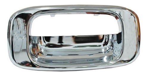 Manija Tapa Caja Chevrolet Cheyenne 2003-2004 Cromo Bisel