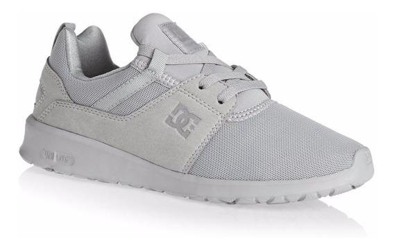 Zapatillas Dc Shoes!! Modelo Heathrow Grey De Mujer!!!